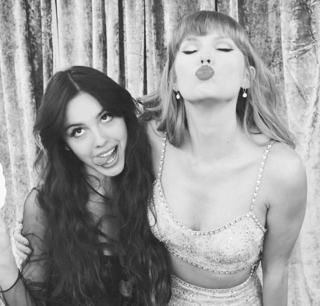 Olivia Rodrigo and Taylor Swift finally got to meet