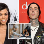 Kourtney Kardashian tattooed boyfriend Travis Barker