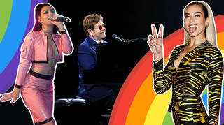 Stars Advocate For Gay Rights Dua Lipa Elton John