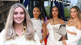 Little Mix received a sweet note from Geri Horner