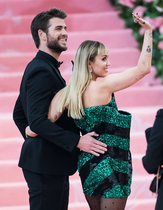 Miley Cyrus and Liam Hemsworth make one of their final public appearances together at the 2019 Met Gala
