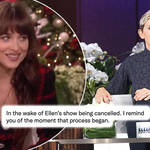 Dakota Johnson called out Ellen DeGeneres in her awkward 2019 interview.