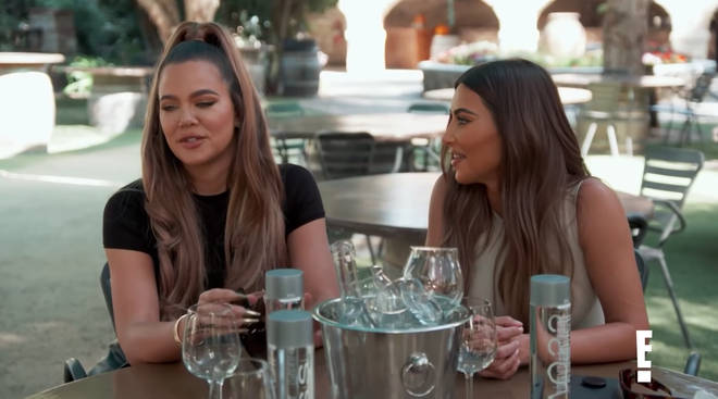 Kim and Khloe Kardashian find out who's behind North West's parody account.