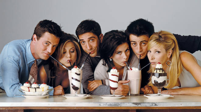 The Friends cast got back together for a one-off reunion