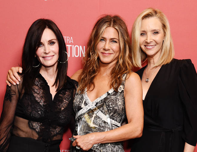 Courteney Cox, Jennifer Aniston and Lisa Kudrow have remained close pals since starring on Friends together