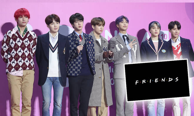 BTS are among the celeb guests in the Friends reunion show