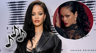 Rihanna teased new music is on the way.