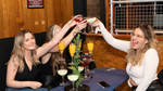 Locals enjoy an indoor drink at Showtime Bar in Huddersfield