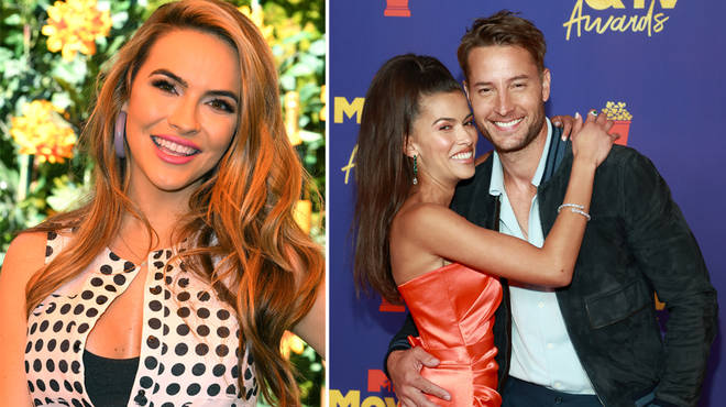 Justin Hartley made his first official appearance with girlfriend Sofia Pernas
