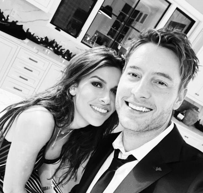 Sofia Pernas and Justin Hartley confirmed their relationship on New Year's Eve