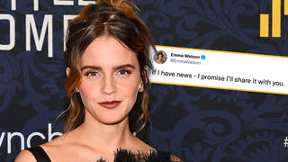 Emma Watson promised to keep fans informed on news