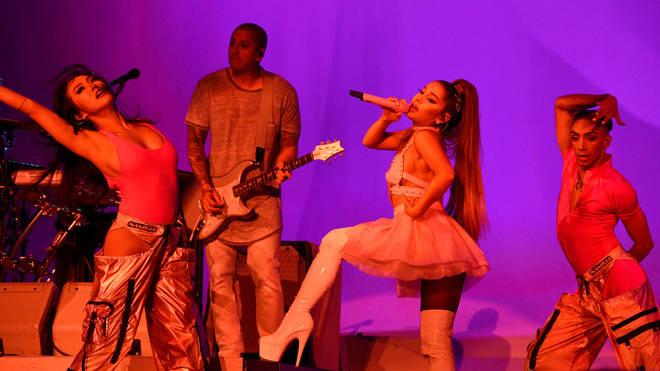 Ariana Grande said she'd eventually drop her surname altogether