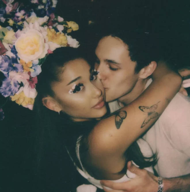 Ariana Grande and Dalton Gomez started dating in February 2020