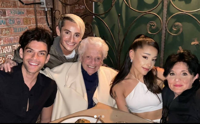 Ariana Grande's family were no doubt present at her wedding