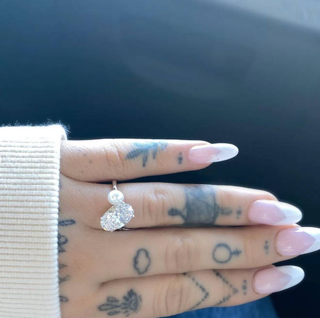 Dalton Gomez had a ring designed to fit Ariana Grande's engagement ring