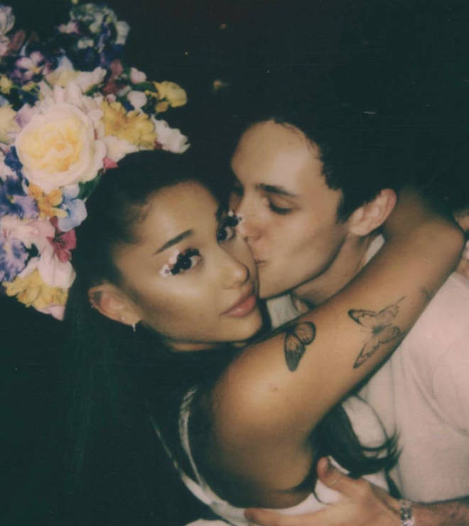 Ariana Grande and Dalton Gomez have been together for a year and a half.