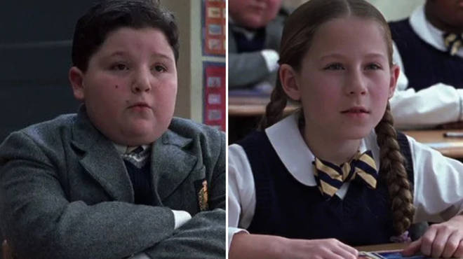 Caitlin and Angelo played Marta and Frankie in School of Rock