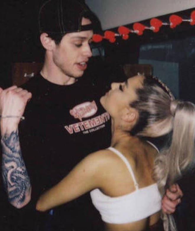 Pete Davidson and Ariana Grande were engaged in 2018.