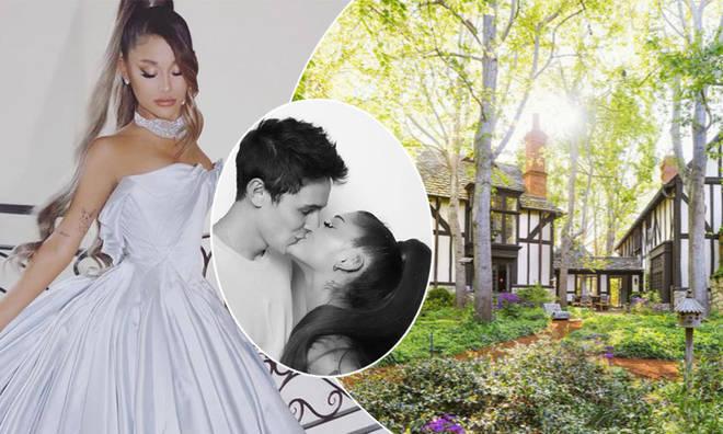 Ariana Grande got married to Dalton Gomez at her Montecito home