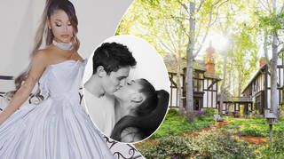 Ariana Grande got married to Dalton Gomez at her Montecito home