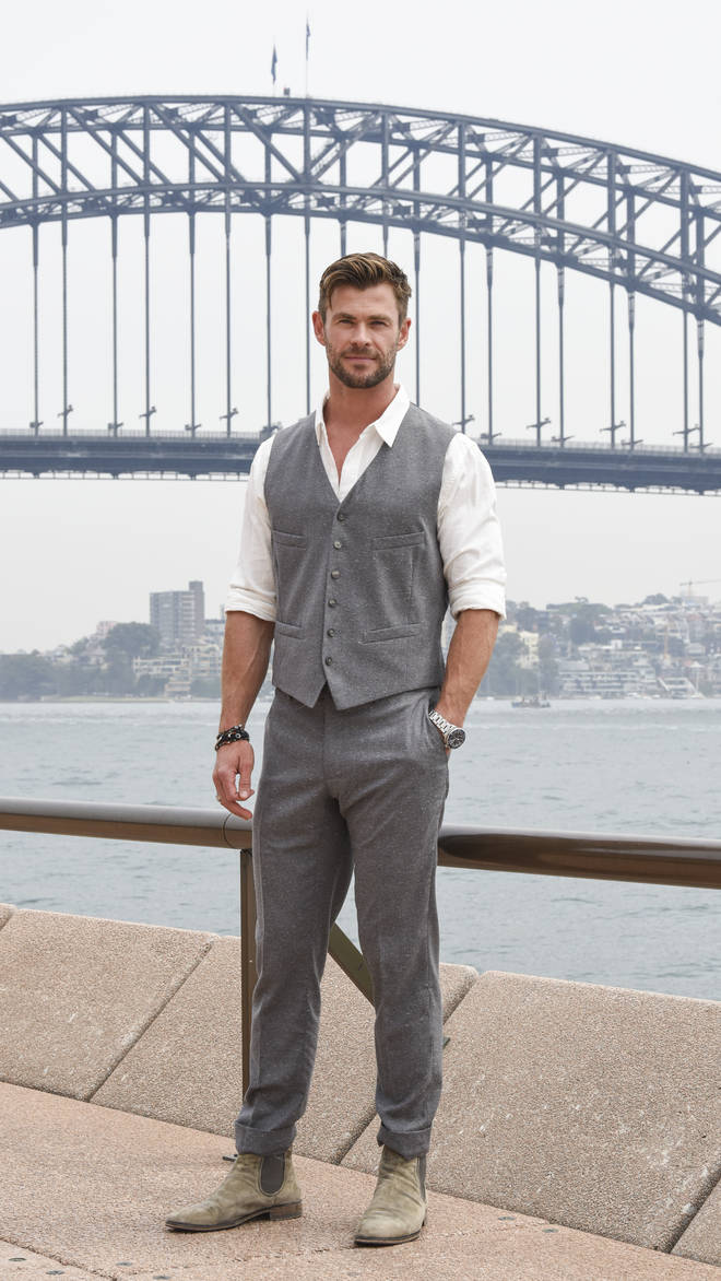 Chris Hemsworth has launched his own wellbeing app for children and adults