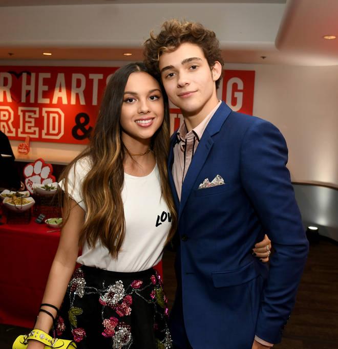 Olivia Rodrigo and Joshua Bassett met on High School Musical: The Musical: The Series
