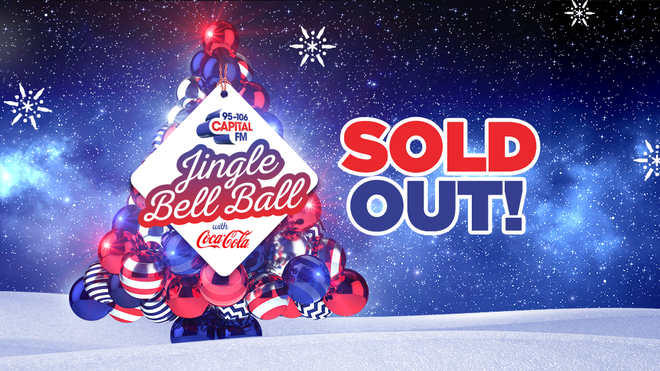 Capital's Jingle Bell Ball has SOLD OUT!