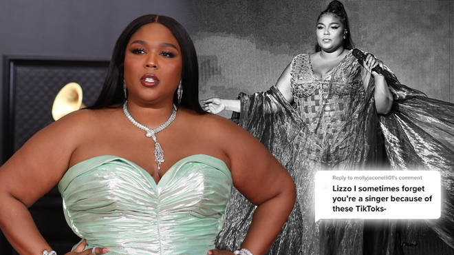 Lizzo had to remind fans she's more than a TikTok icon