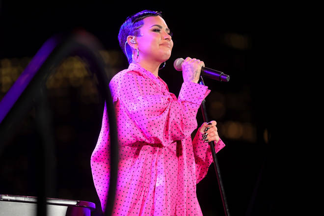 Demi Lovato is open about their gender identity and personal struggles with fans