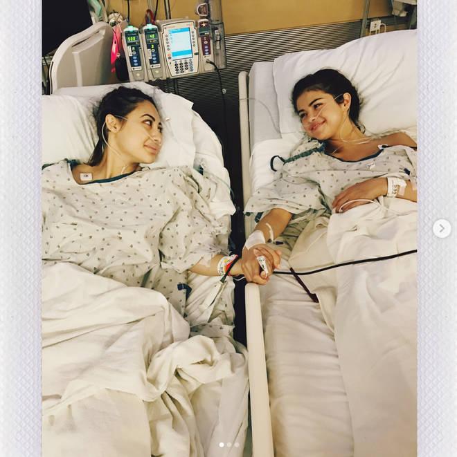 Selena Gomez underwent a kidney transplant back in 2017