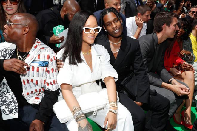 A$AP Rocky called Rihanna the 'love of my life'