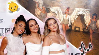 Little Mix tease the release of their new song