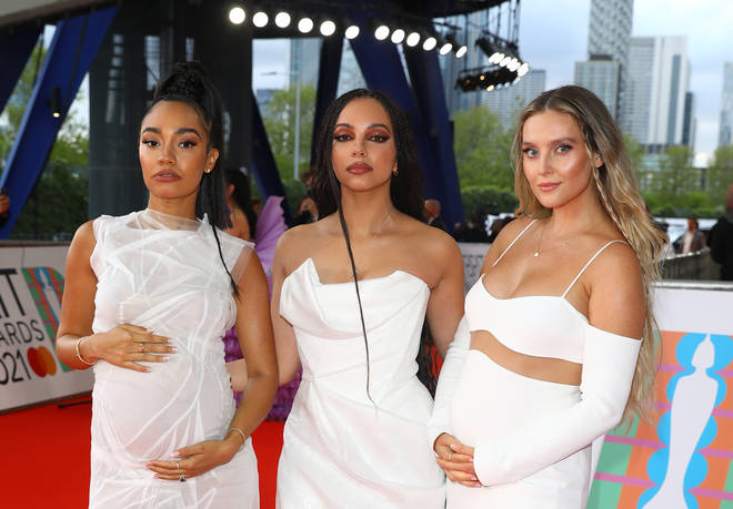 Little Mix look gorgeous in angel-themed outfits for their new music video