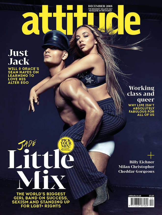 Little Mix's Jade Thirlwall graces the front cover of Attitude magazine