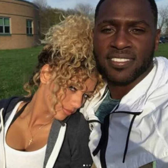 Jena Frumes and Antonio Brown briefly dated in 2017