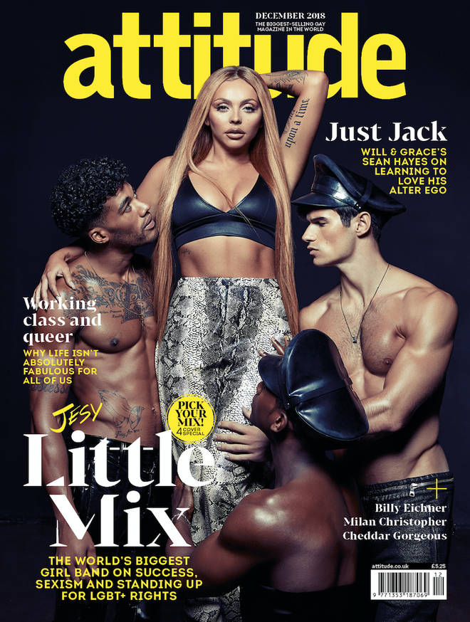 Little Mix's Jesy Nelson talks about their 'provocative' stage outfits and feminism in Attitude