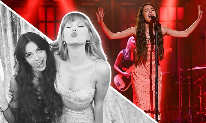 Olivia Rodrigo gives Taylor Swift a writing credit on 'Sour' album