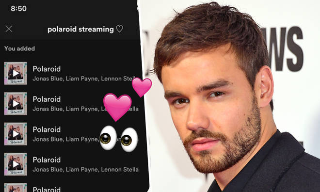Liam Payne thanked his fans for their continued support of his music career