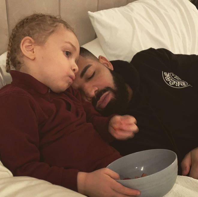 Drake's son, Adonis, is now three years old