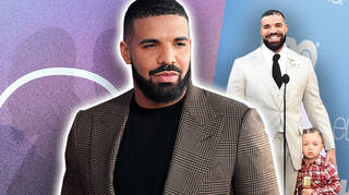 Drake and his son Adonis made a very rare appearance at the Billboard Music Awards