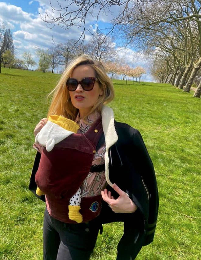 Laura Whitmore is thought to have named her baby Stevie Re
