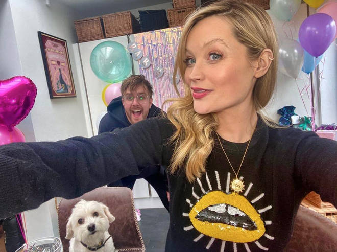 Laura Whitmore and Iain Stirling welcomed their first child in April