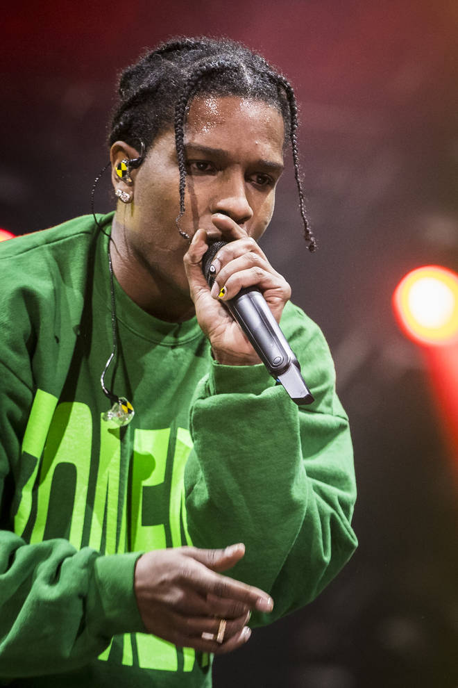 A$AP Rocky released a track about his relationship with Rita Ora