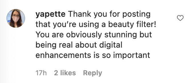 Fans of Lizzo took to the comments to praise the star