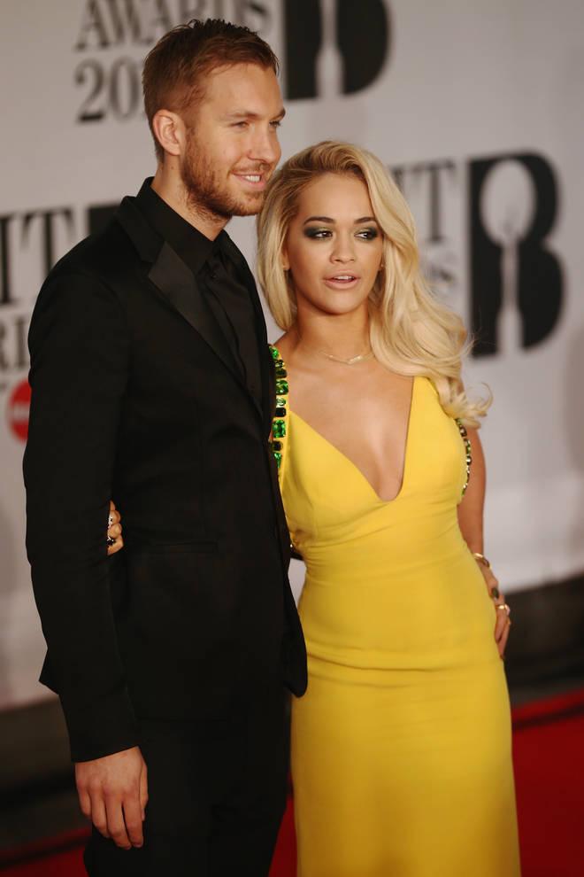 Rita Ora and Calvin Harris had a high profile relationship in 2014