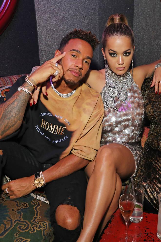 Lewis Hamilton and Rita Ora has a brief summer fling