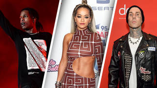 Rita Ora has been linked to A$AP Rocky and Travis Barker