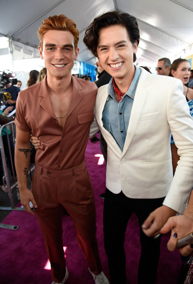 Cole Sprouse and KJ Apa are colleagues and friends