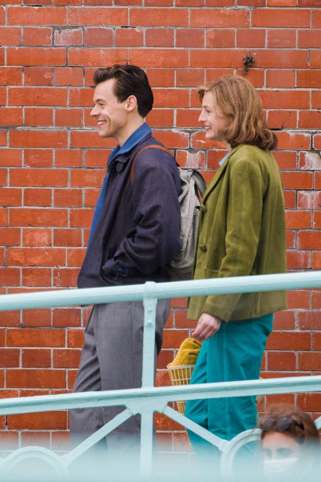 Harry Styles and Emma Corrin are currently filming 'The Policeman'