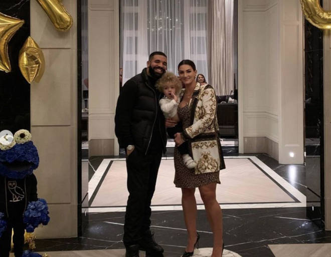 Drake shares his son Adonis with ex Sophie Brussaux